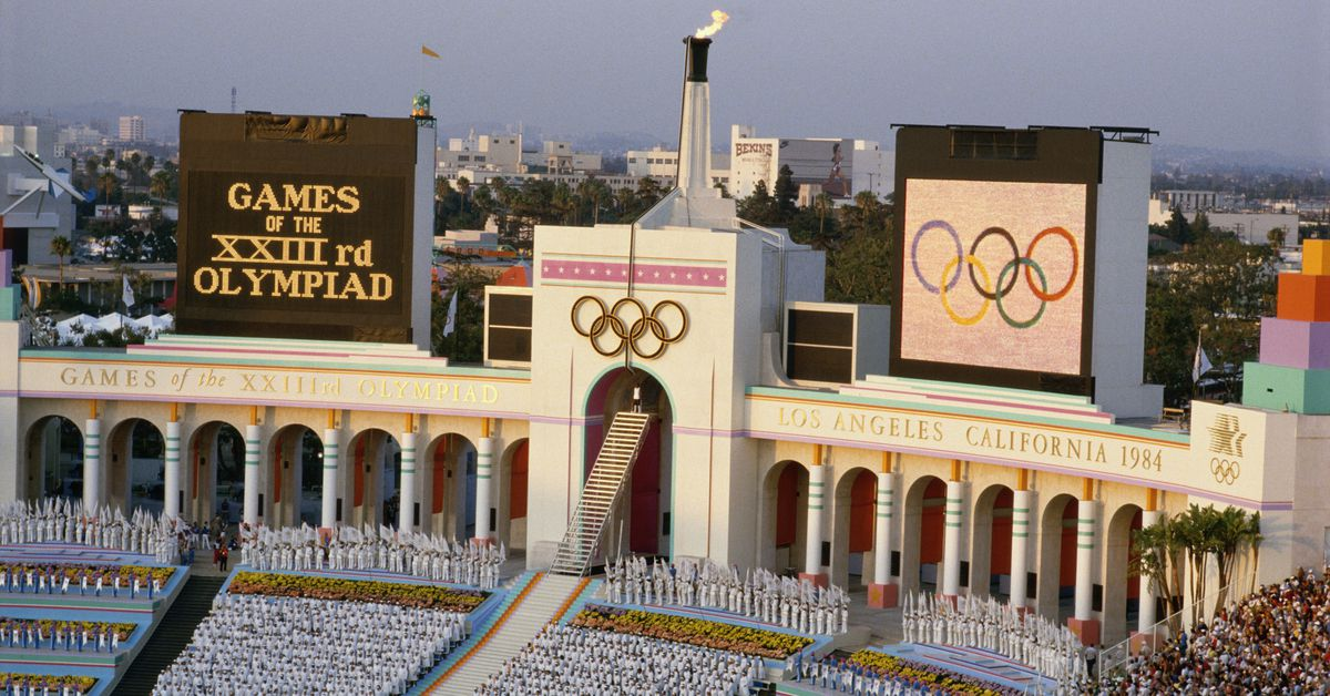 1984 Olympics: Mapping the LA venues that shaped the games