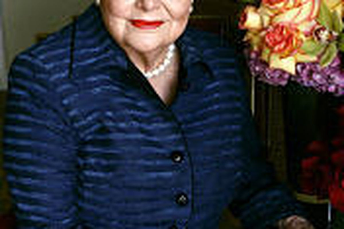 """Actress Olivia de Havilland played Melanie in """"Gone With the Wind."""""""