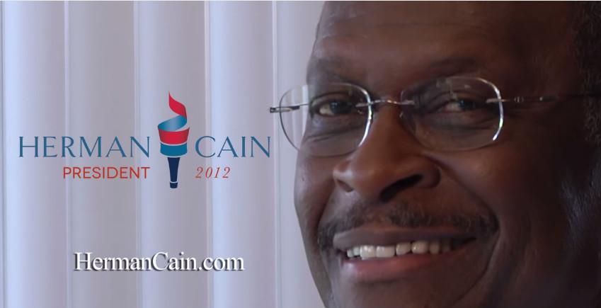 Herman Cain smile