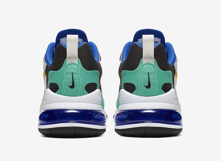 Back of sneaker