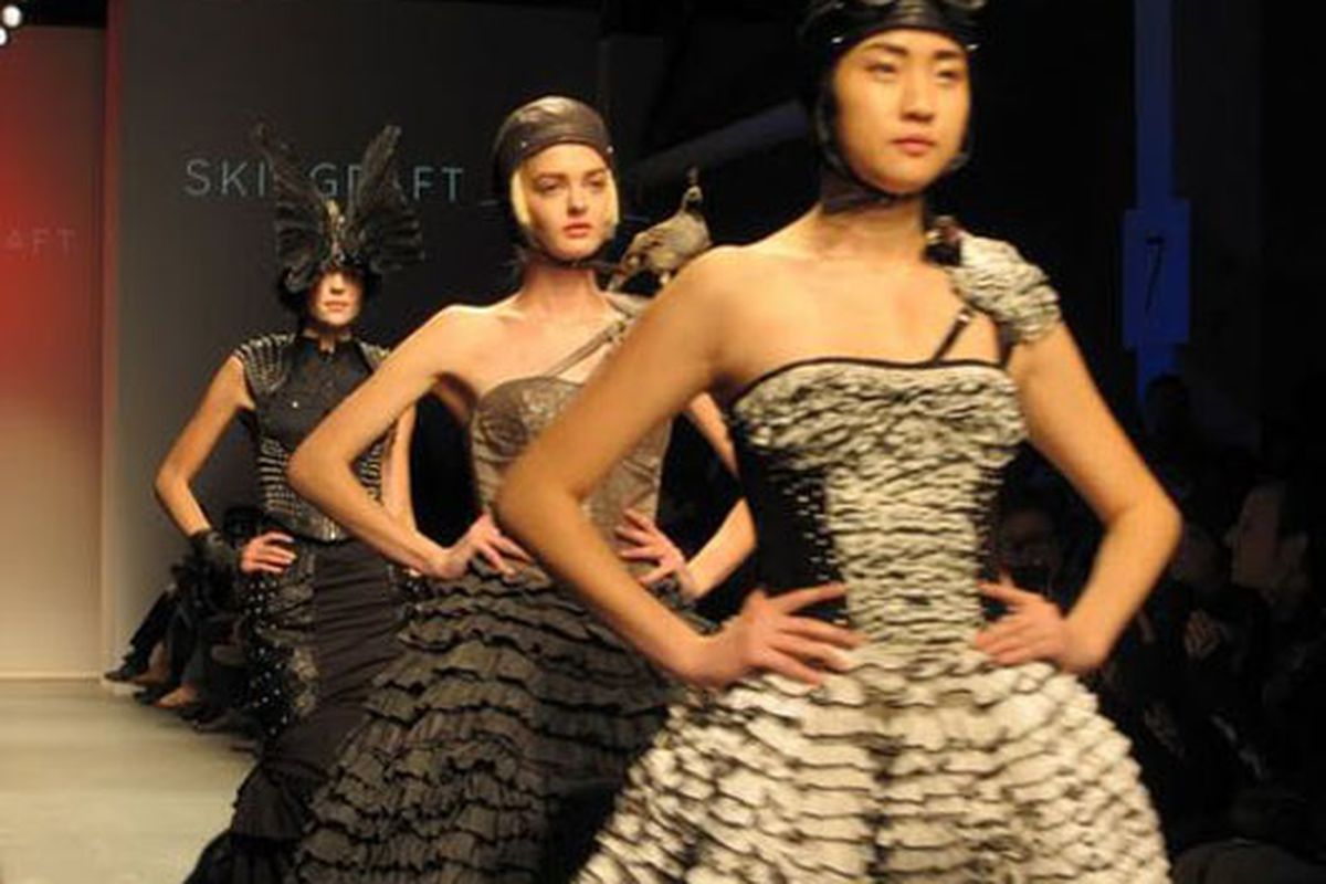 """Skin.Graft will be one of the lines featured in the BoxEight event. Image via<a href=""""http://latimesblogs.latimes.com/alltherage/2009/10/skingraft-and-louis-verdad-show-spring-2010-at-downtown-la-fashion-week.html""""> LA Times</a>"""