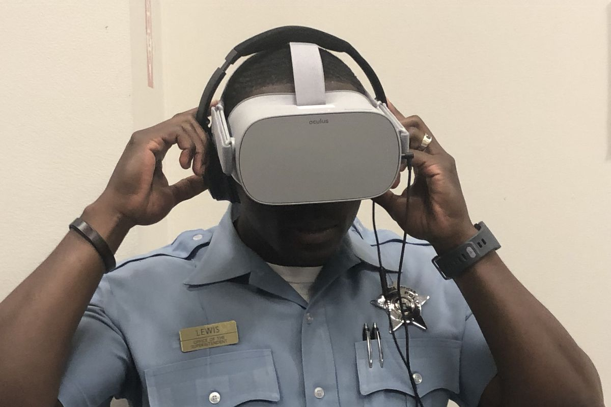 Police unveil virtual reality equipment to train for handling calls of mental health crises