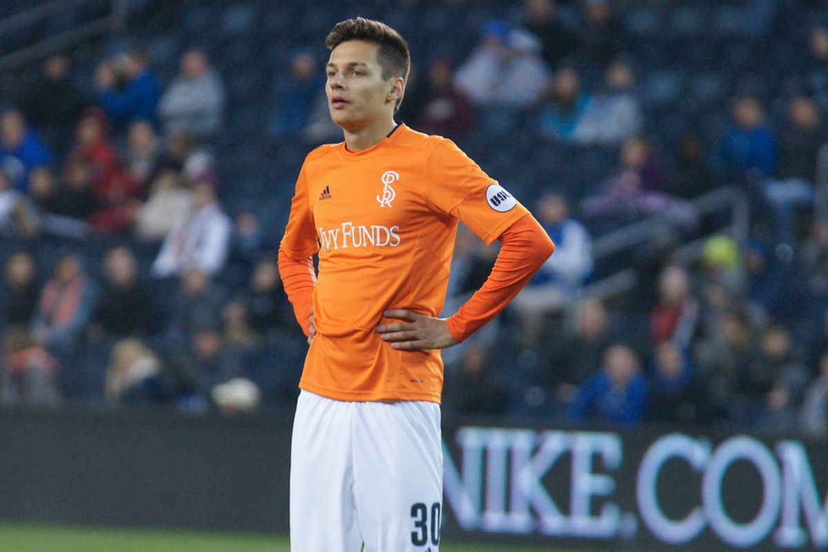 Salloi should get a start on the field where he played in the Academy