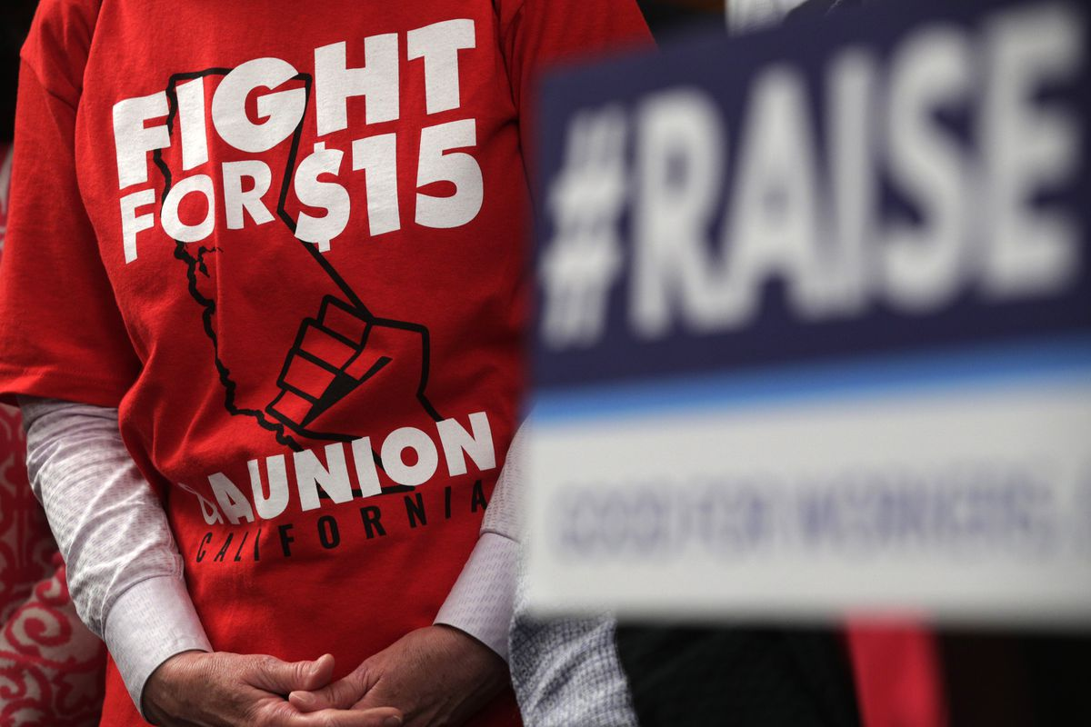 """House Democrats Hold Press Conference Before """"Raise The Wage Act"""" Vote"""