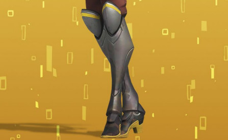 Mercy doctor skin boots