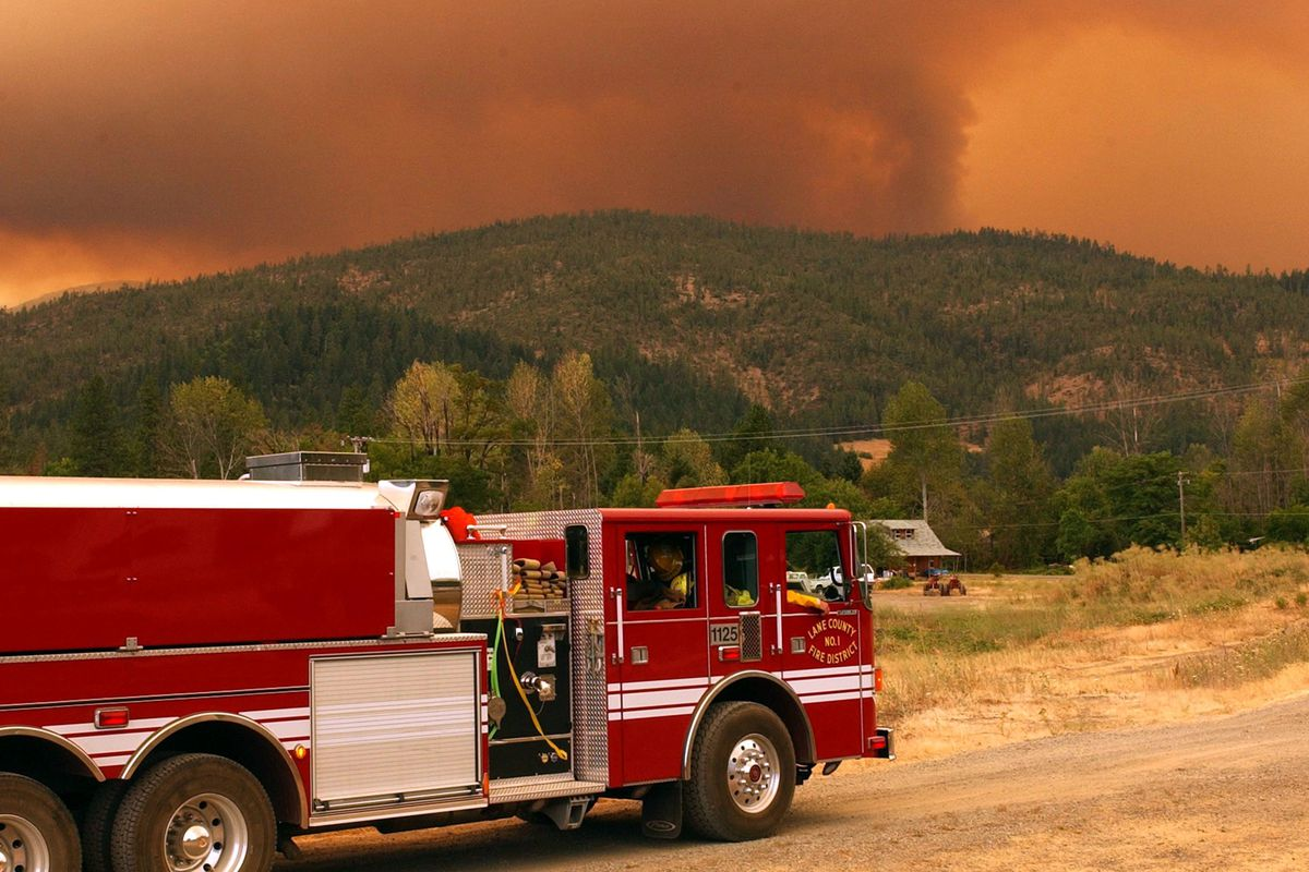 Wildfires Rage in Oregon