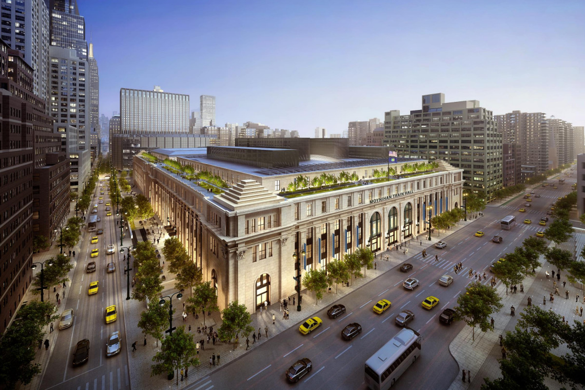 Project to turn Farley Post Office into Moynihan Train Hall moves forward