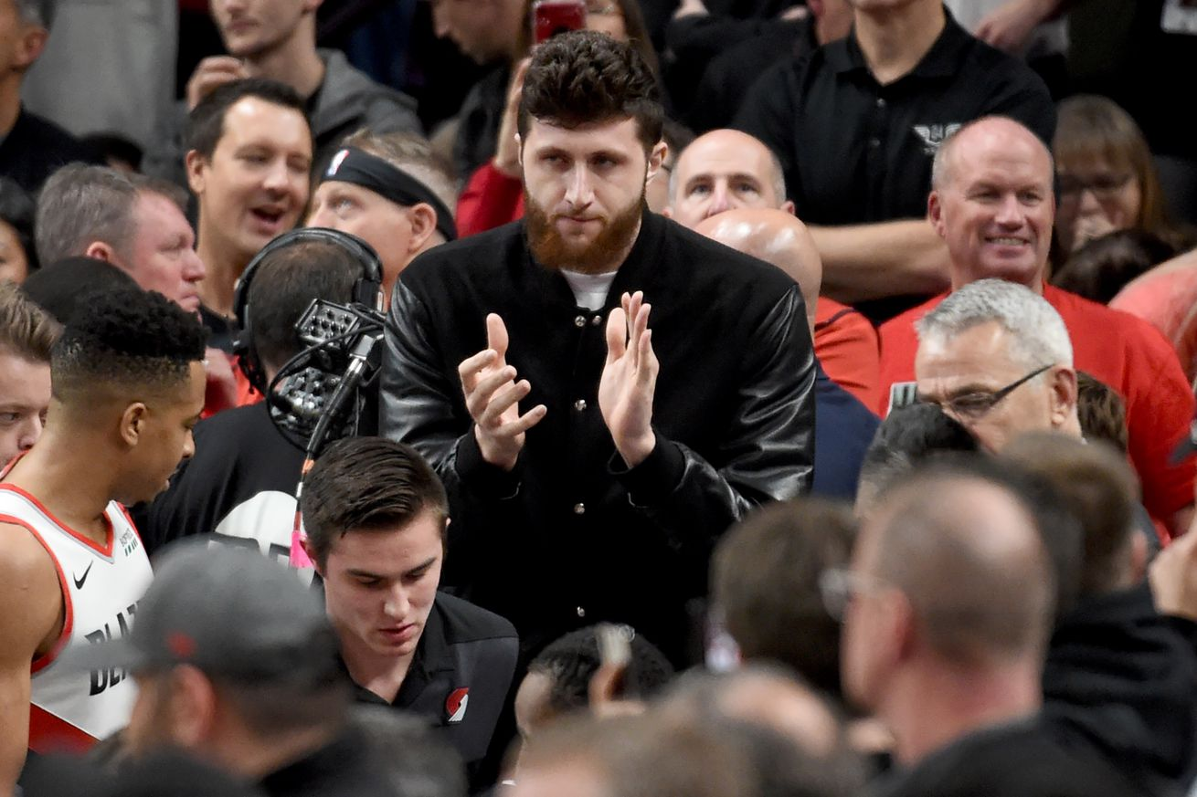 """Olshey: Nurkic on """"Great Trajectory"""" to Return to Play"""