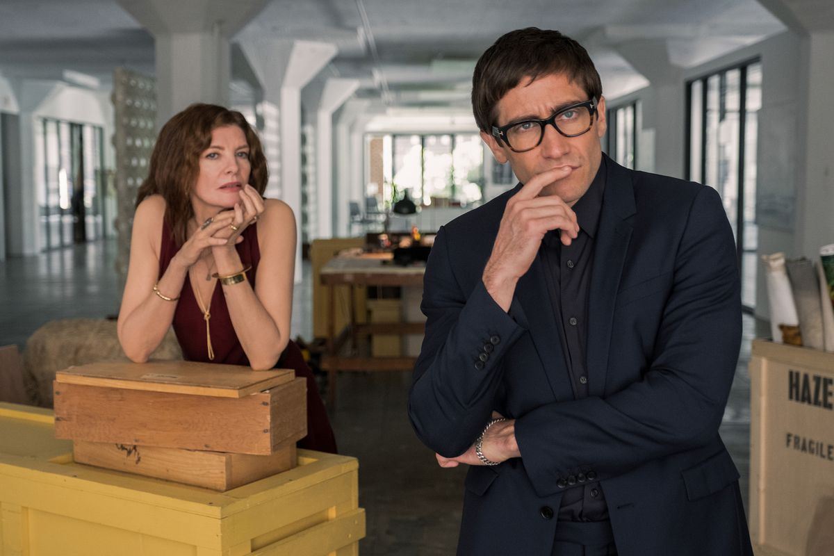 Rene Russo and Jake Gyllenhaal in 'Velvet Buzzsaw'