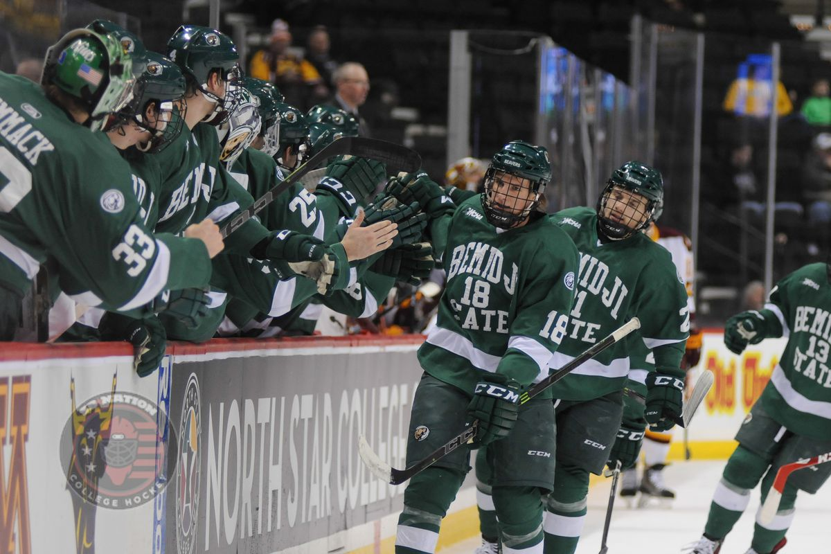 Bemidji State clinched home ice in the playoffs and set up an exciting finish to the MacNaughton Cup race