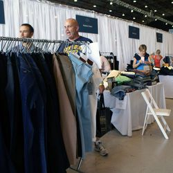 Jeans junkies had plenty to choose from: Hudson, Koral Jeans, DL1961 Premium Denim and Joe's Jeans were just a few brands offering major denim deals.