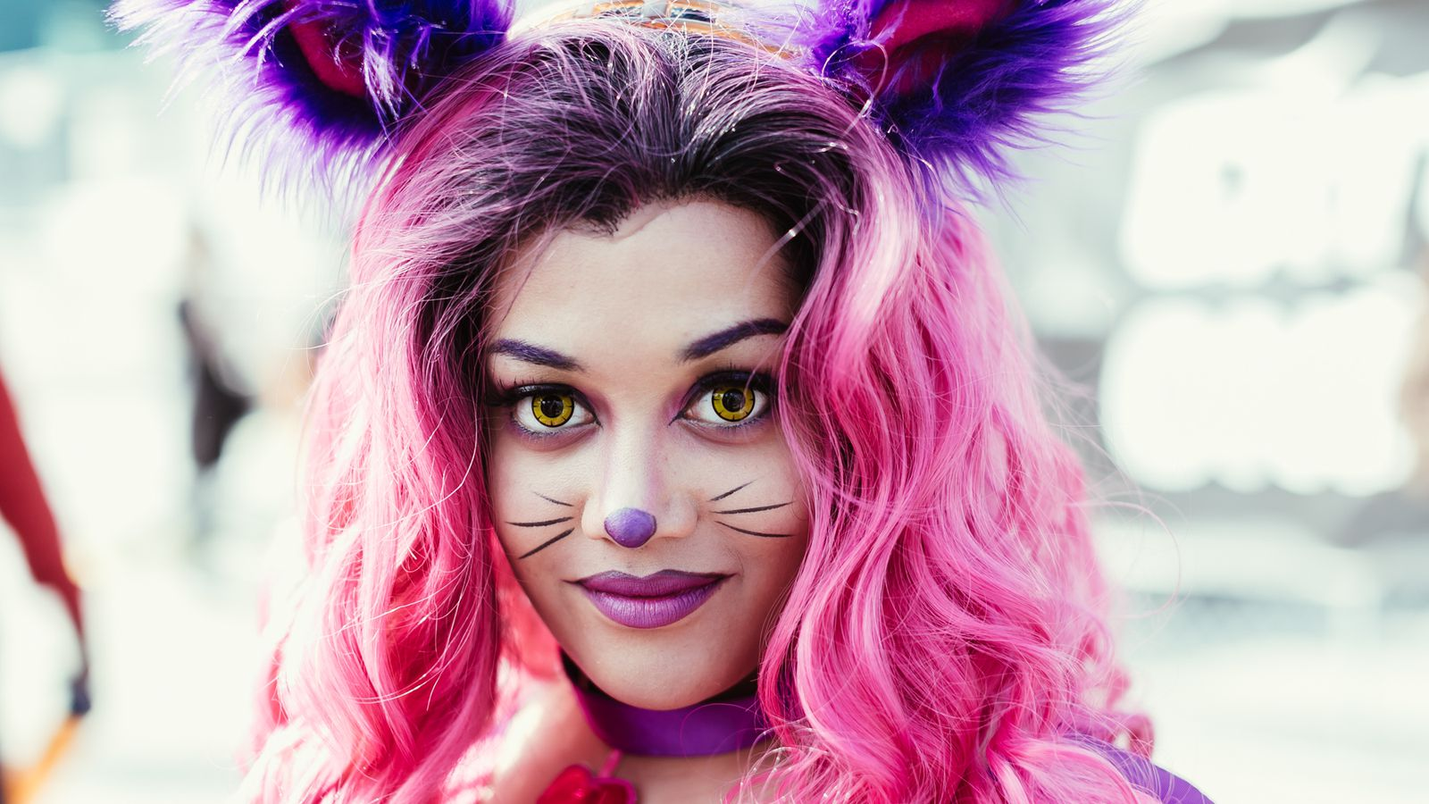 21 crazy halloween makeup looks to steal from comic con racked ny