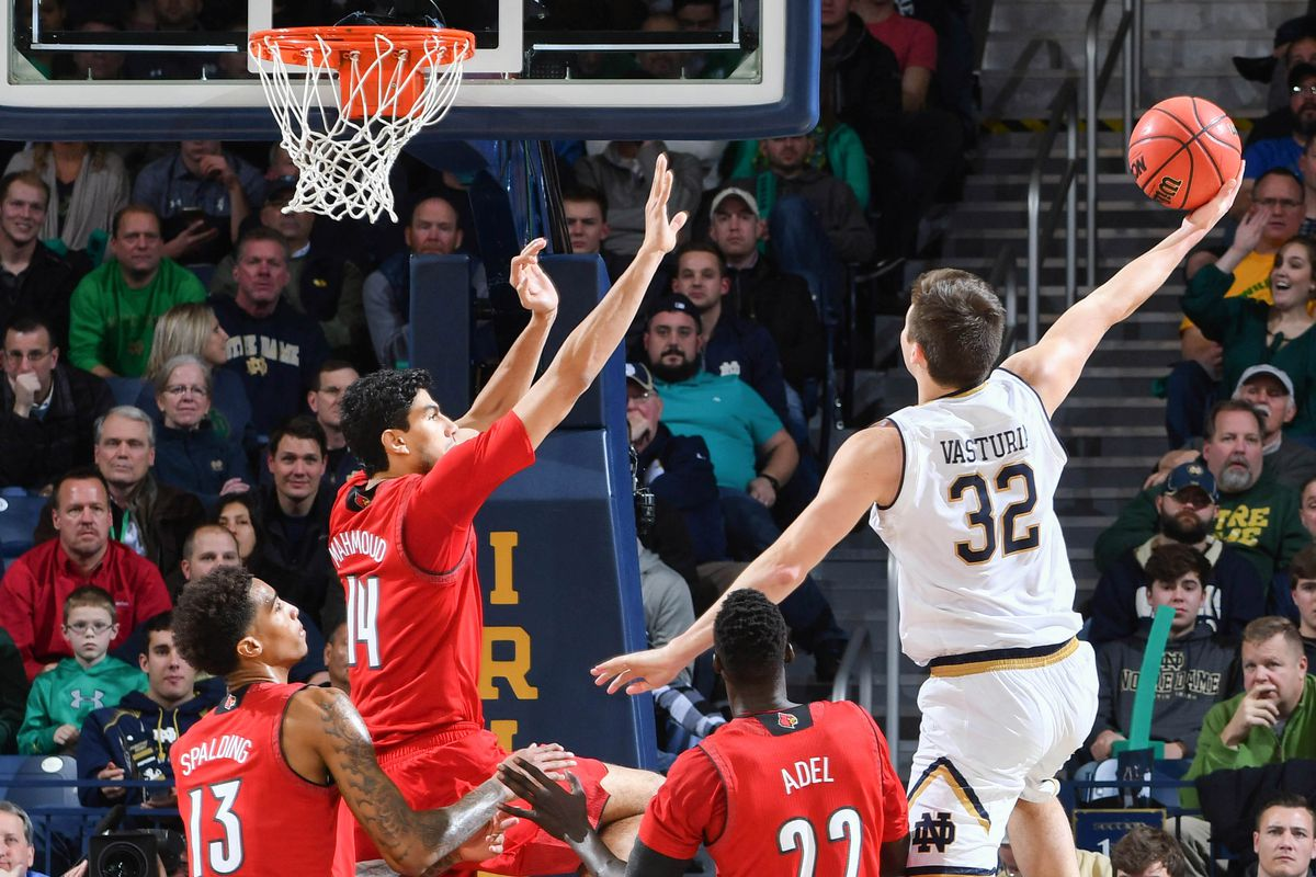 NCAA Basketball: Louisville at Notre Dame