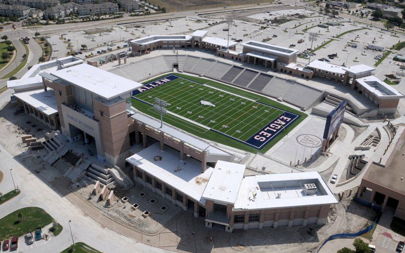 How high school football has transformed Allen, Texas - Curbed