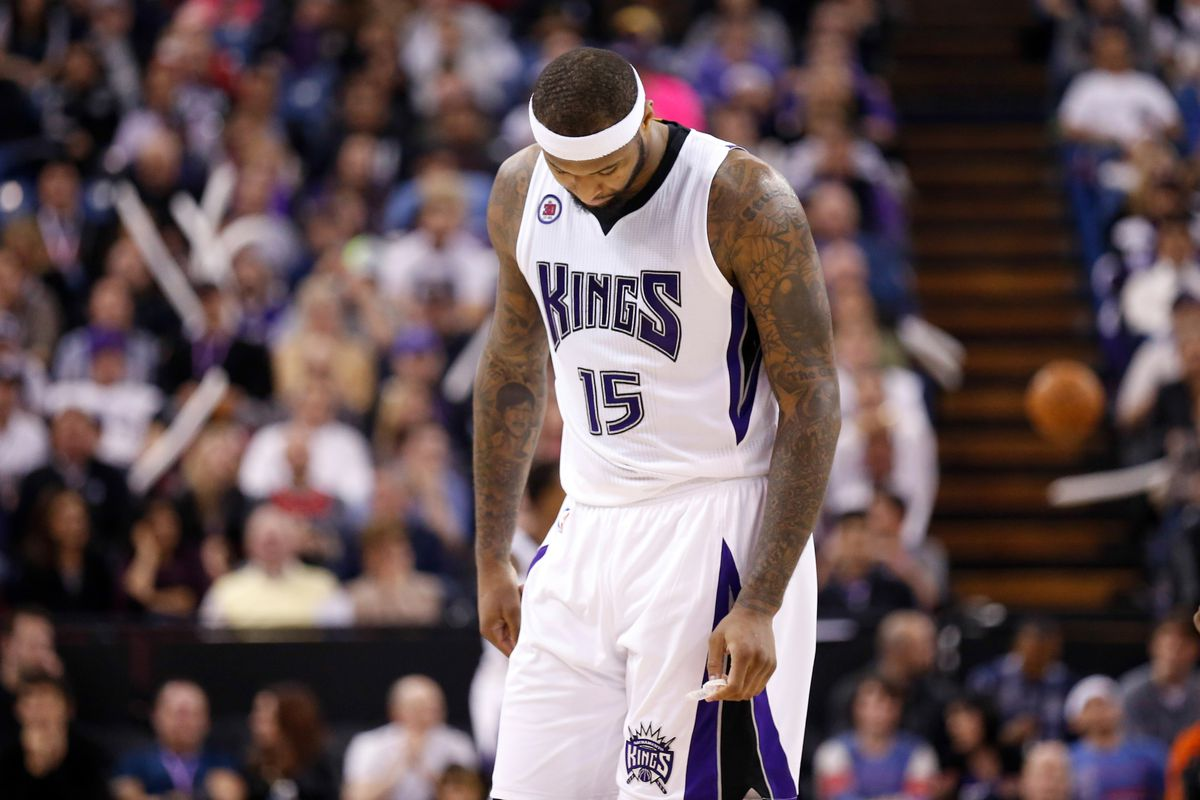 premium selection 1e11f ab8e4 DeMarcus Cousins snubbed of spot in All-Star Game - Sactown ...