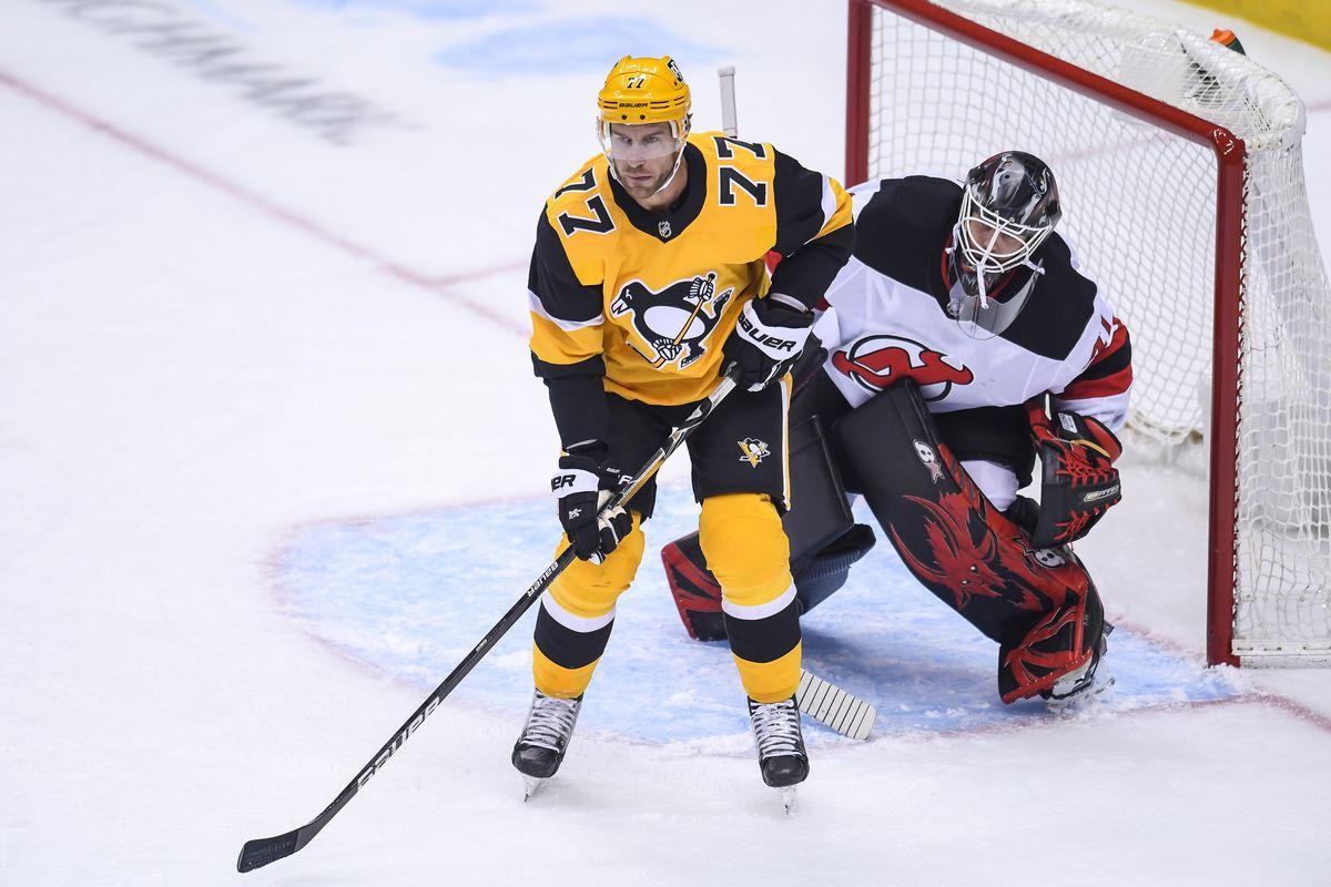 NHL: APR 22 Devils at Penguins