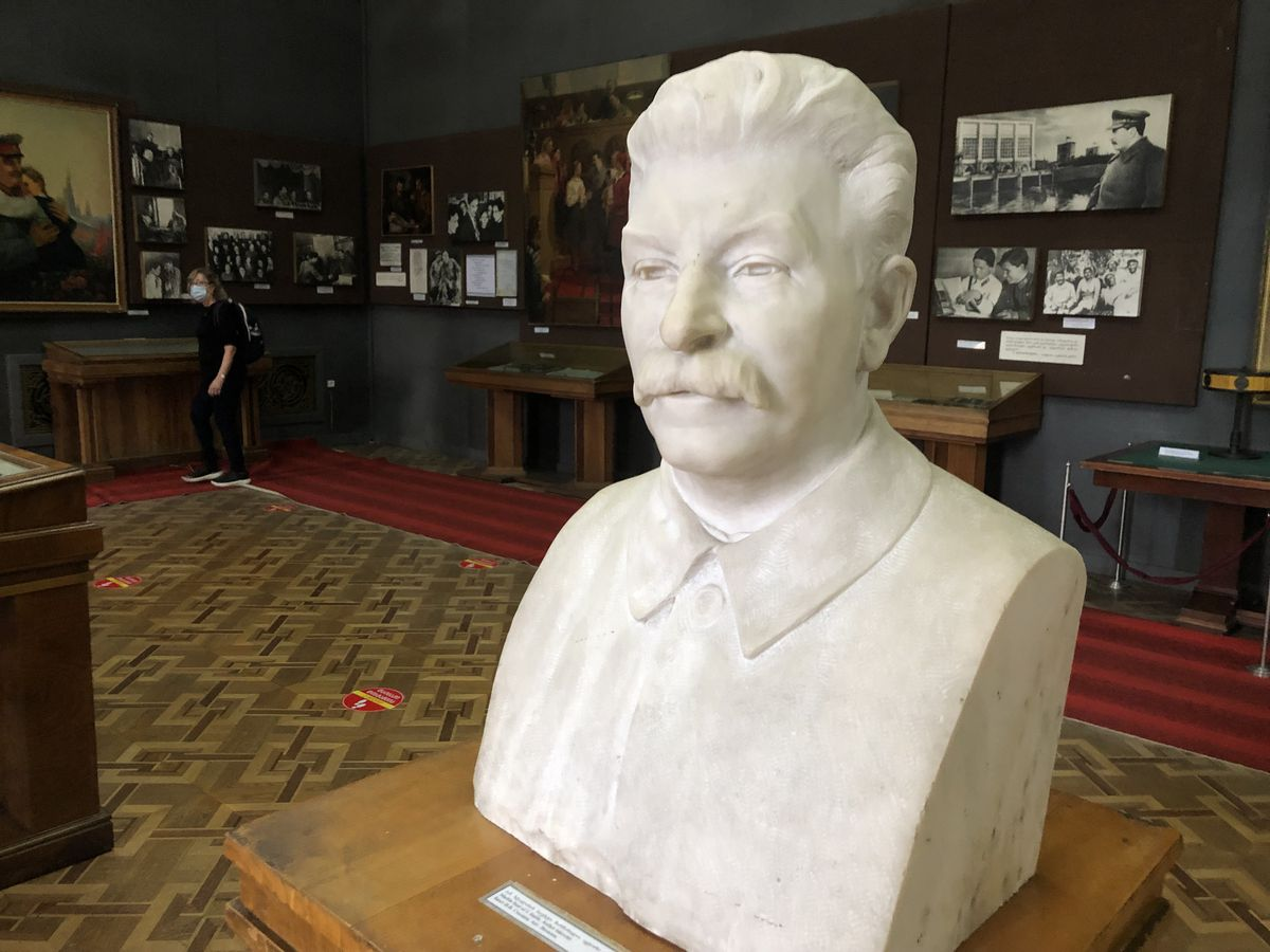 Just what a complicated world we live in has never been more clear to me than it was when visiting the city where Joseph Stalin grew up. This bust at the Joseph Stalin State Museum in Gori is just one symbol of how revered the ruthless Soviet dictator remains even now, 68 years after his death.