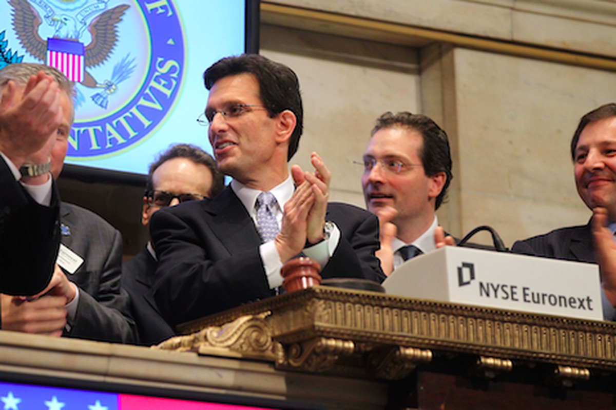 Cantor rings the opening bell on Wall Street