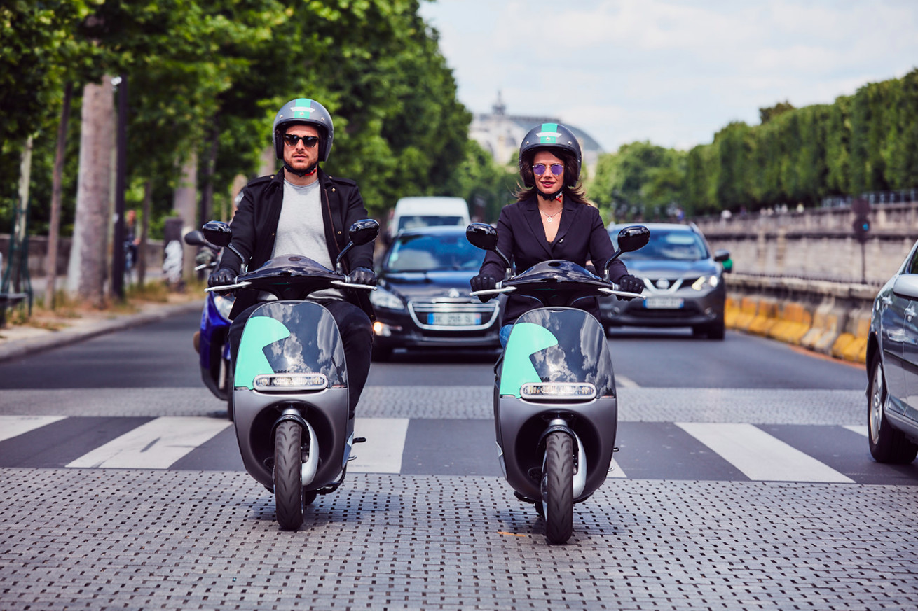 Gogoro's sleek electric scooters are now available to rent in Paris
