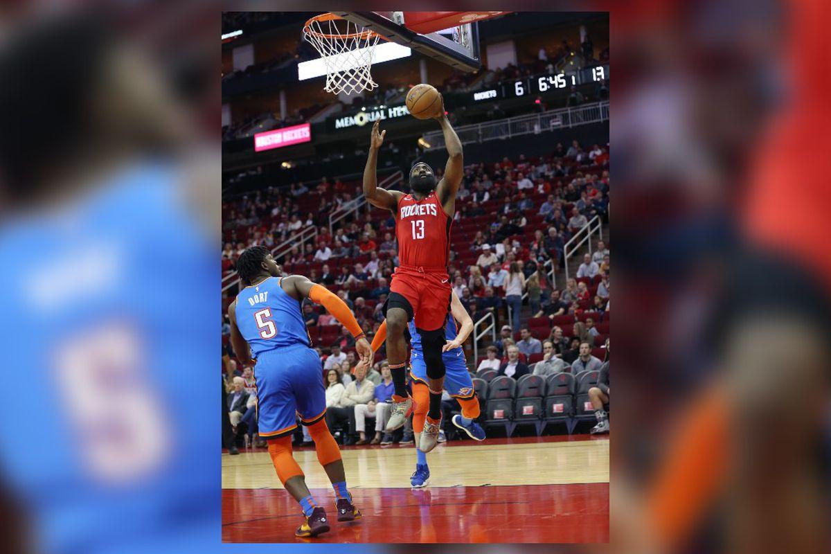 Oklahoma City Thunder vs. Houston Rockets