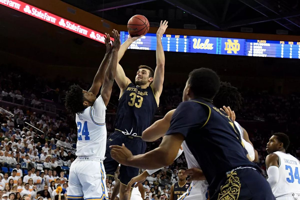 Notre Dame Men's Basketball Controls the Game and Beats ...