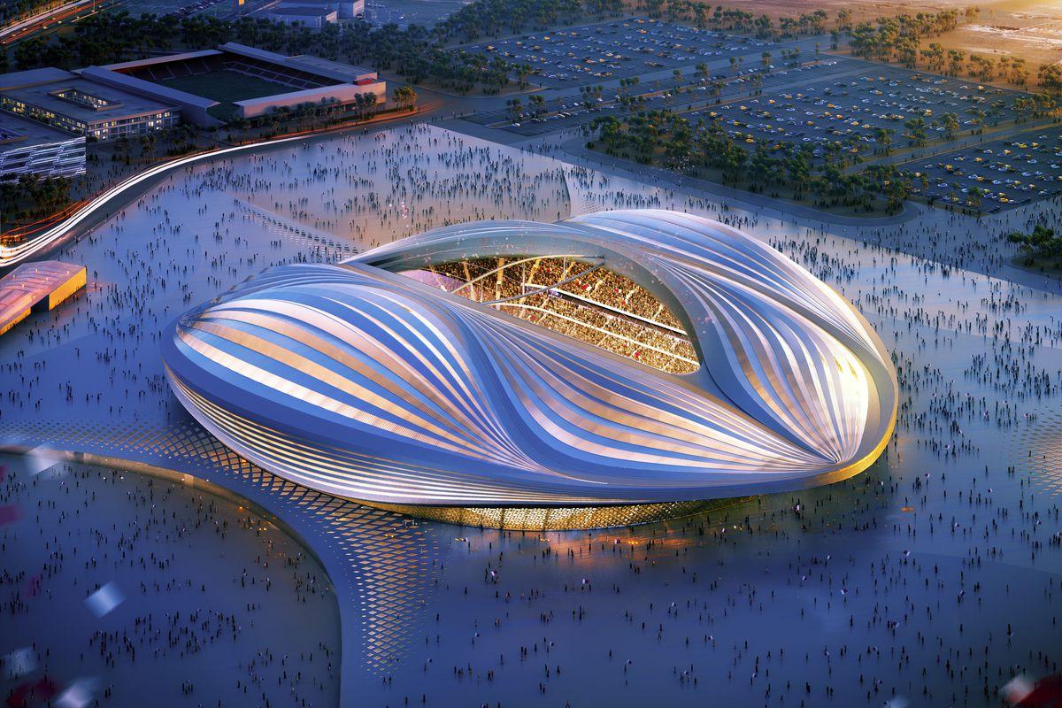 Rendered Illustations Of Qatar 2022 Venues