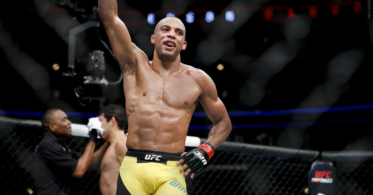 Edson Barboza requests release from UFC: 'I think it's time to move on' - MMA Fighting