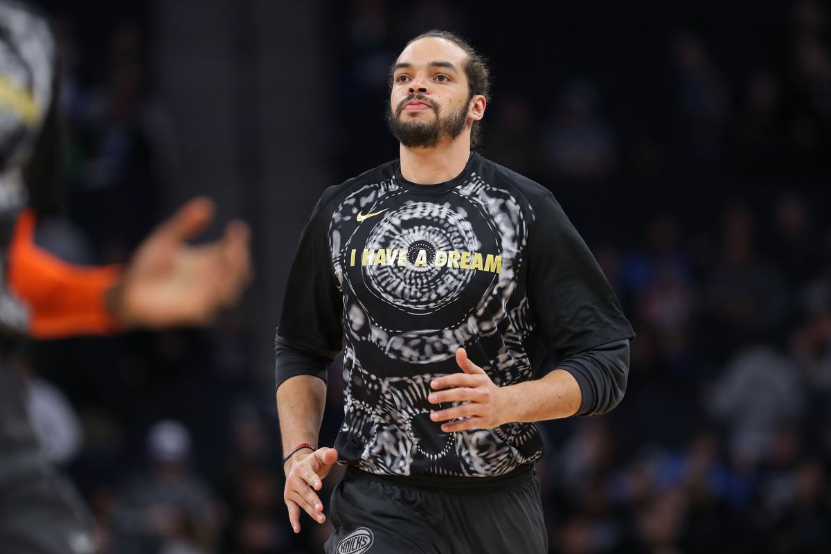Joakim Noah not at Knicks practice, won't play against Nets on Tuesday