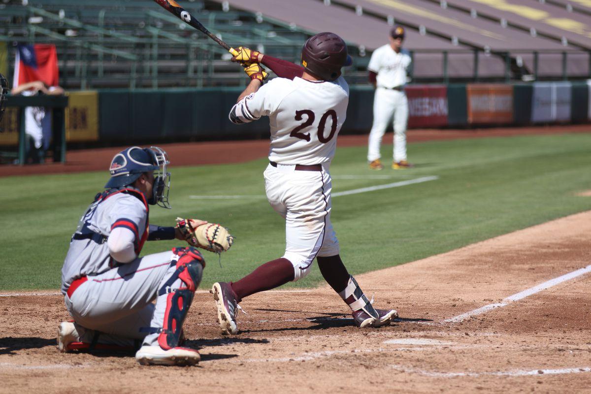 asu baseball: sun devils' freshman provide glimmer of hope in loss
