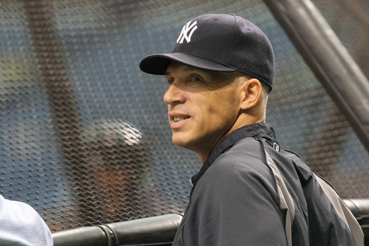 New York Yankees manager Joe Girardi. Kim Klement-US PRESSWIRE