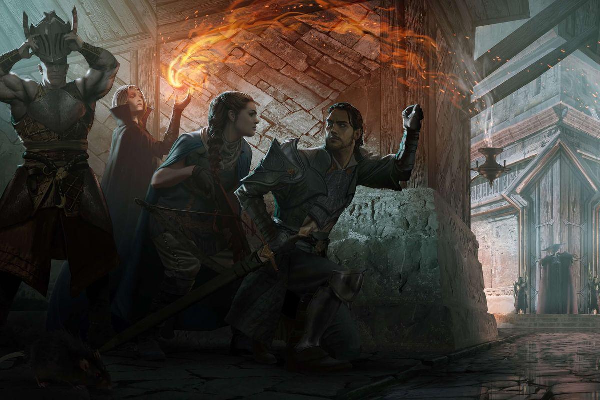 Concept art for Dragon Age 4