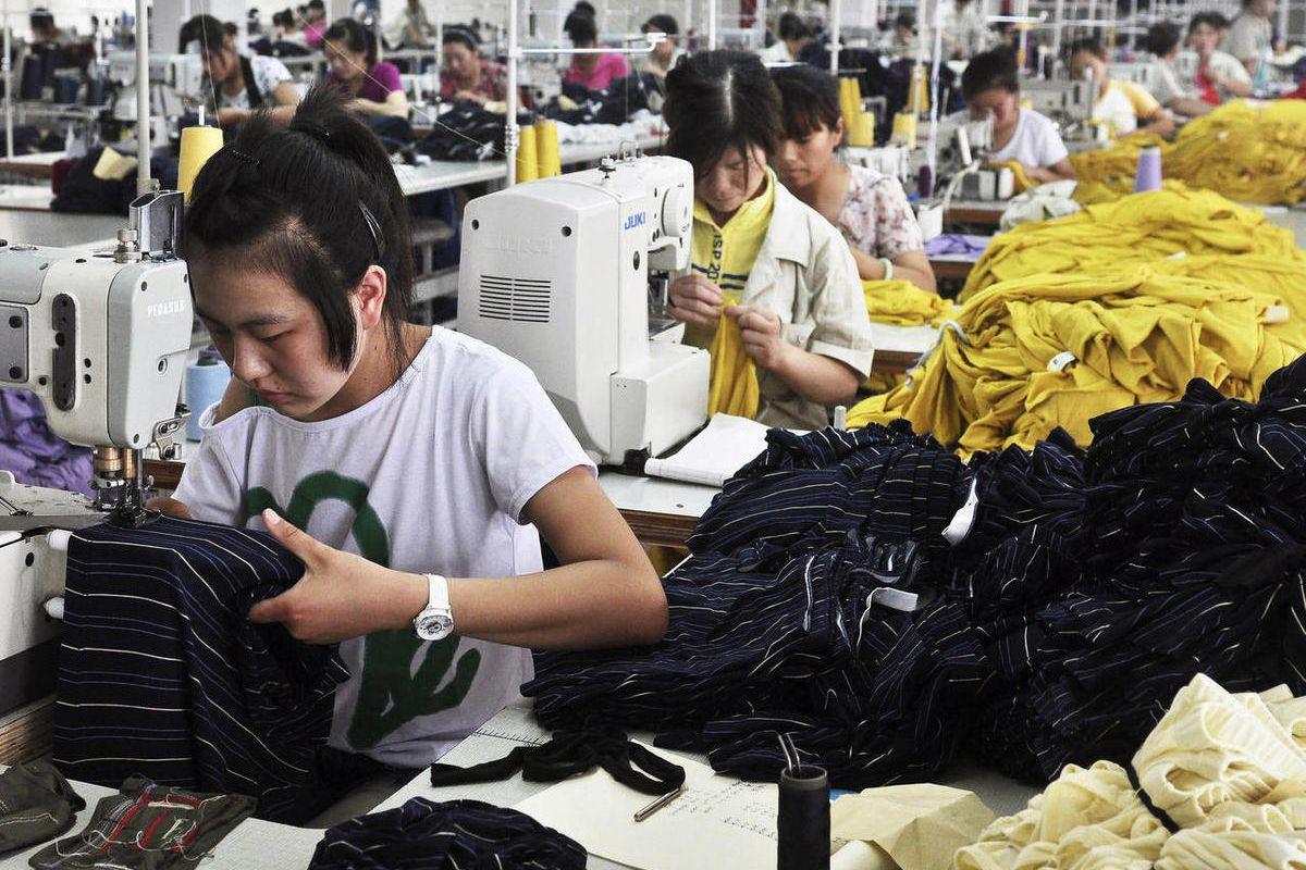 это вьетнамцы шьют массово одежду фото процессе