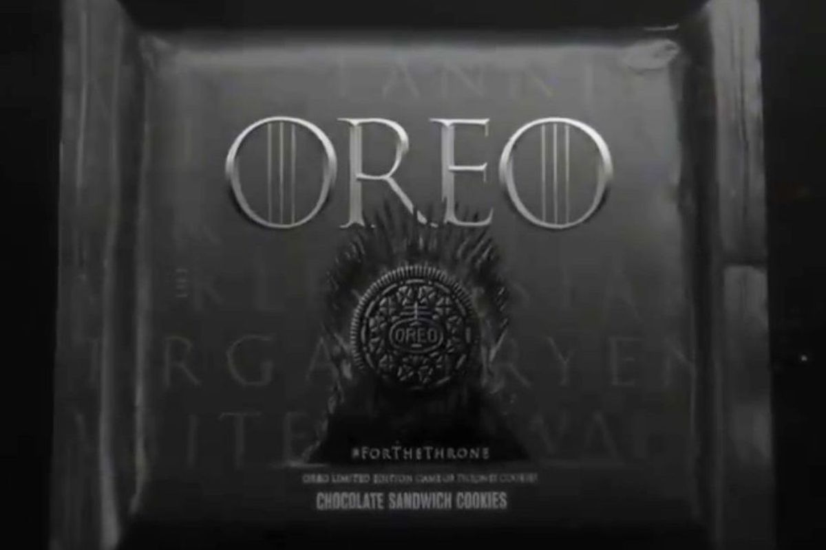 Game of Thrones' Oreo cookie coming to a store near you