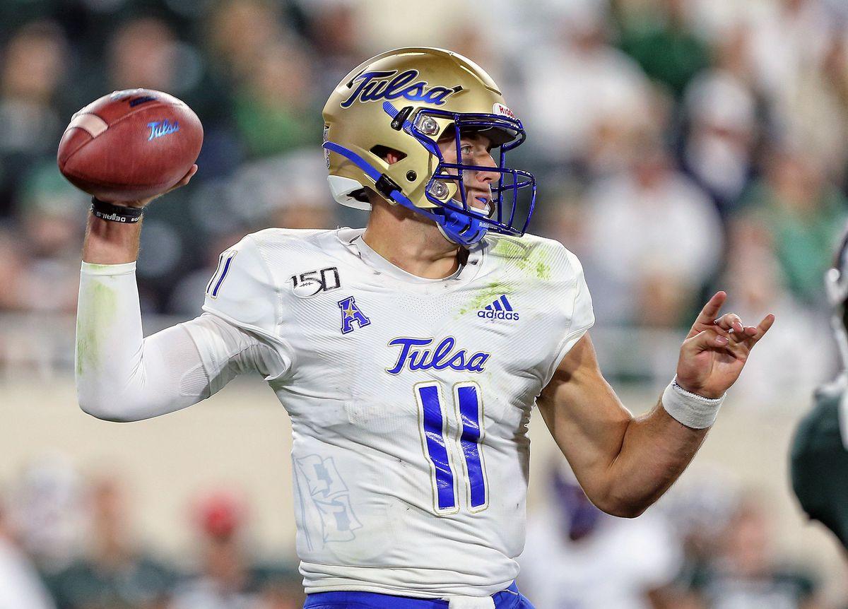 NCAA Football: Tulsa at Michigan State