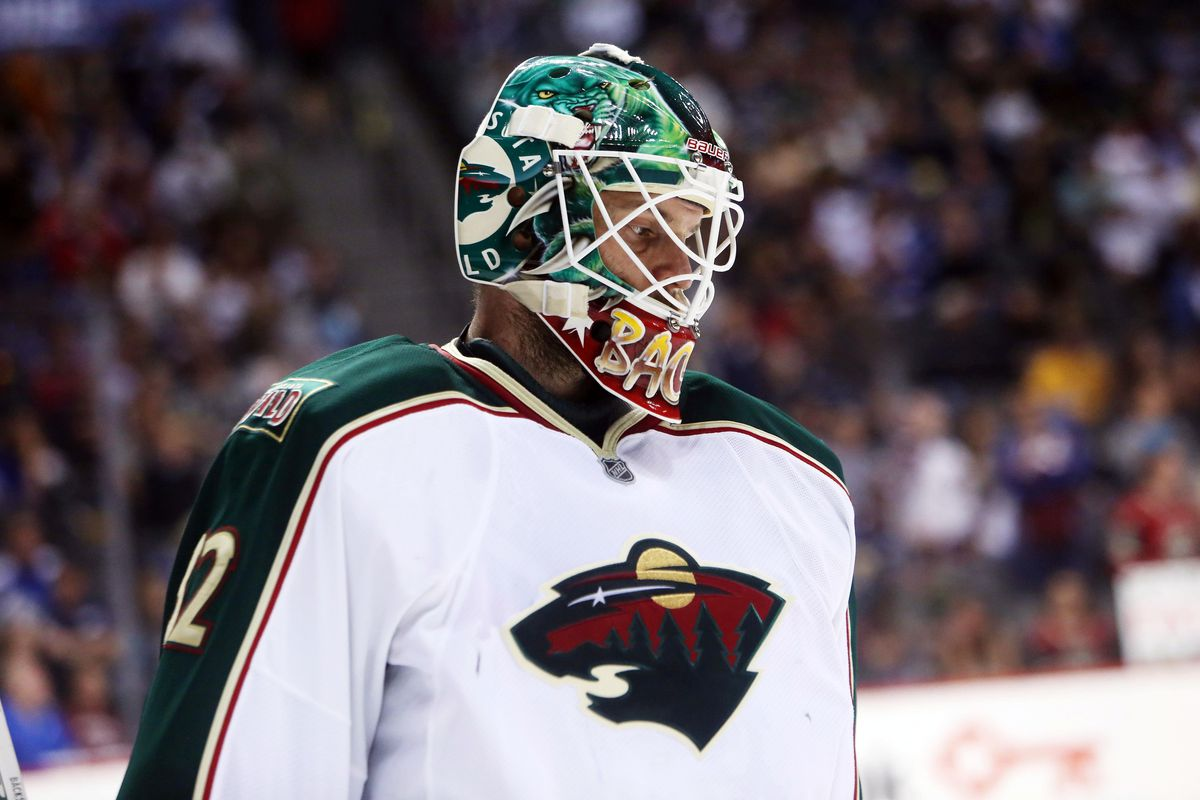 Niklas Backstrom will be competing to be Finland's starting goalie in the Olympics.