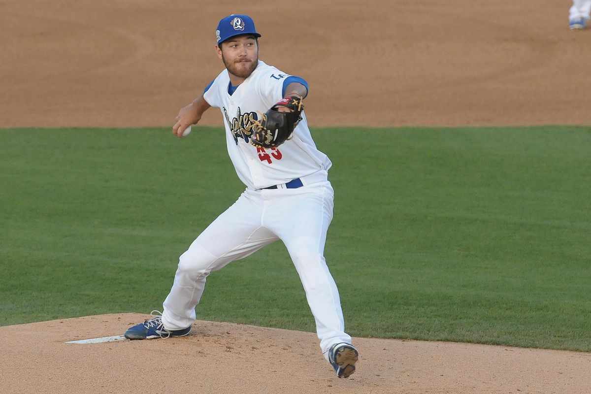 John Richy pitched a complete game shutout on Thursday against Modesto.
