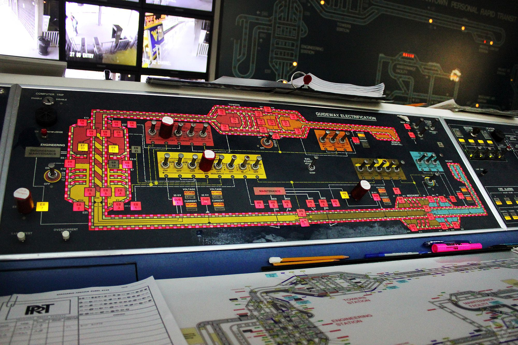 The Road Not Taken Verge Money Concept Circuit Board With State Bank Morgantown Prts Control Panel
