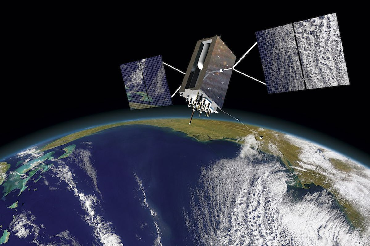 Lockheed Martin GPS III satellite image (Credit: Lockheed Martin)