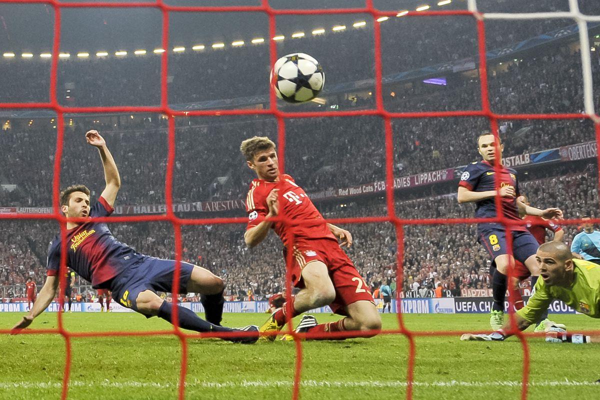 Champions League, Bayern München - FC Barcelona