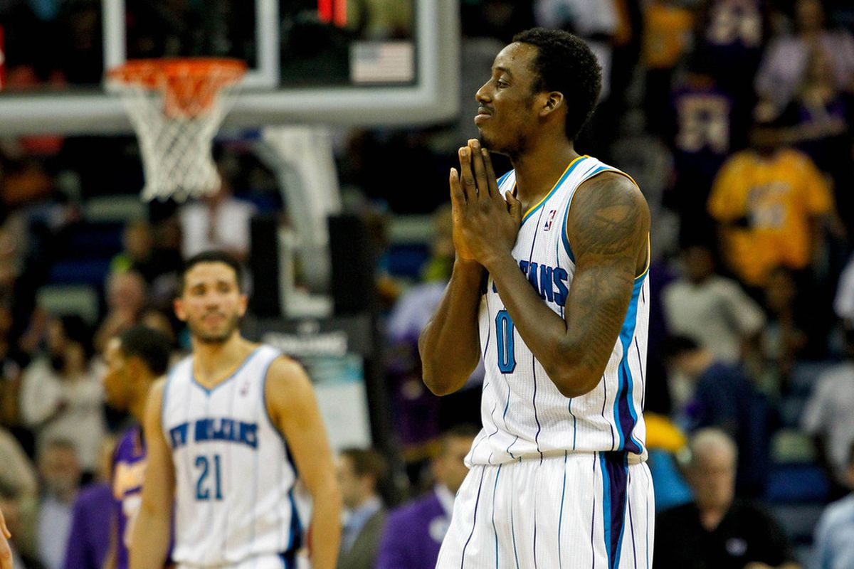 Al-Farouq Aminu joins the Hornets fans in praying that this season were over.