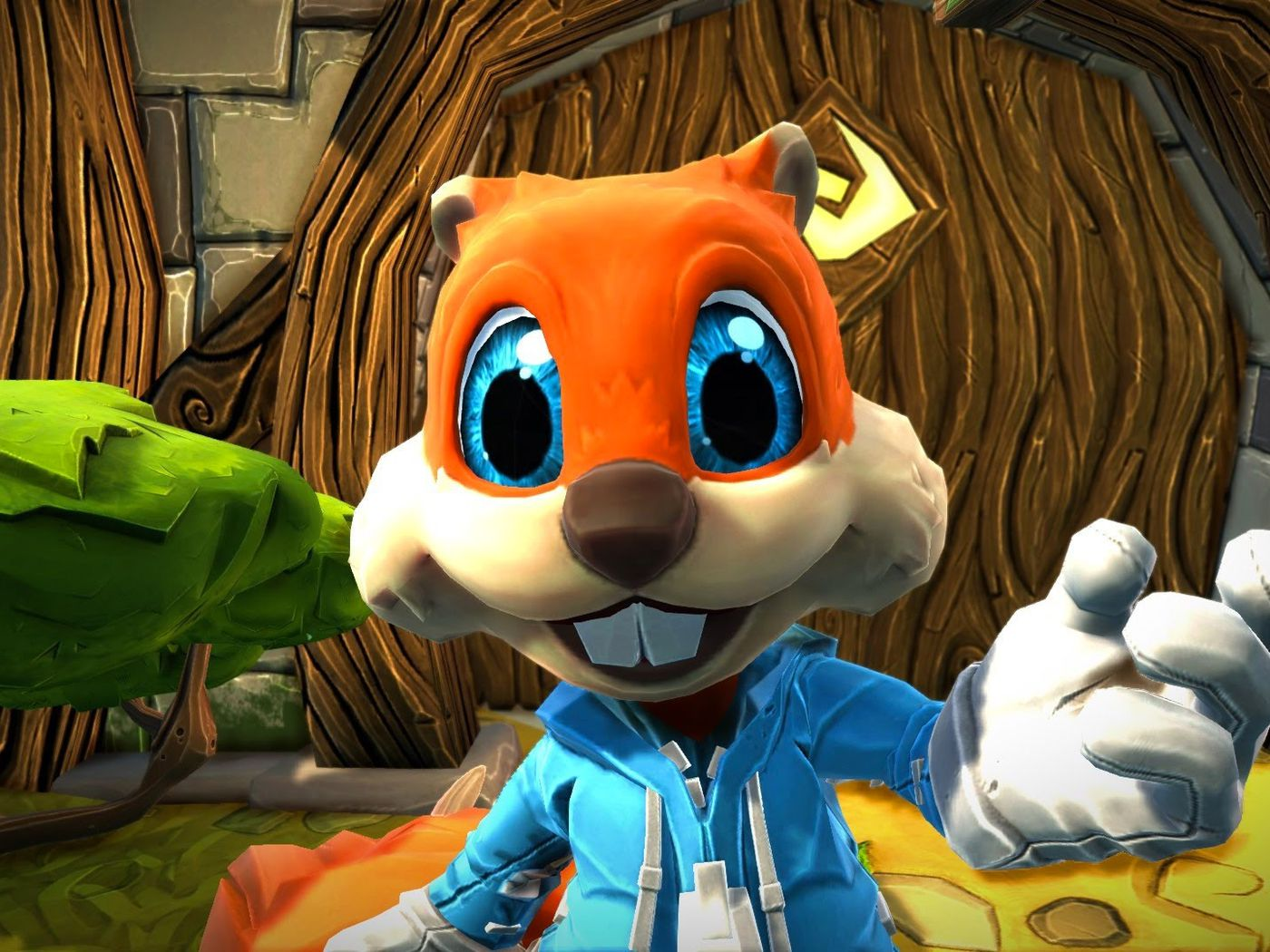 Rare S Conker Is Coming Back In An Episodic Adventure For Project