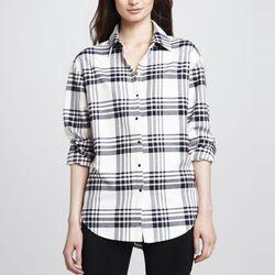 "<b>Elizabeth and James</b> Pam Plaid Button-Down Shirt, <a href=""http://www.bergdorfgoodman.com/p/Elizabeth-and-James-Pam-Plaid-Button-Down-Shirt-plaid/prod87700098___/?icid=&searchType=MAIN&rte=%252Fsearch.jsp%253FN%253D4294967293%2526_requestid%253D2849"