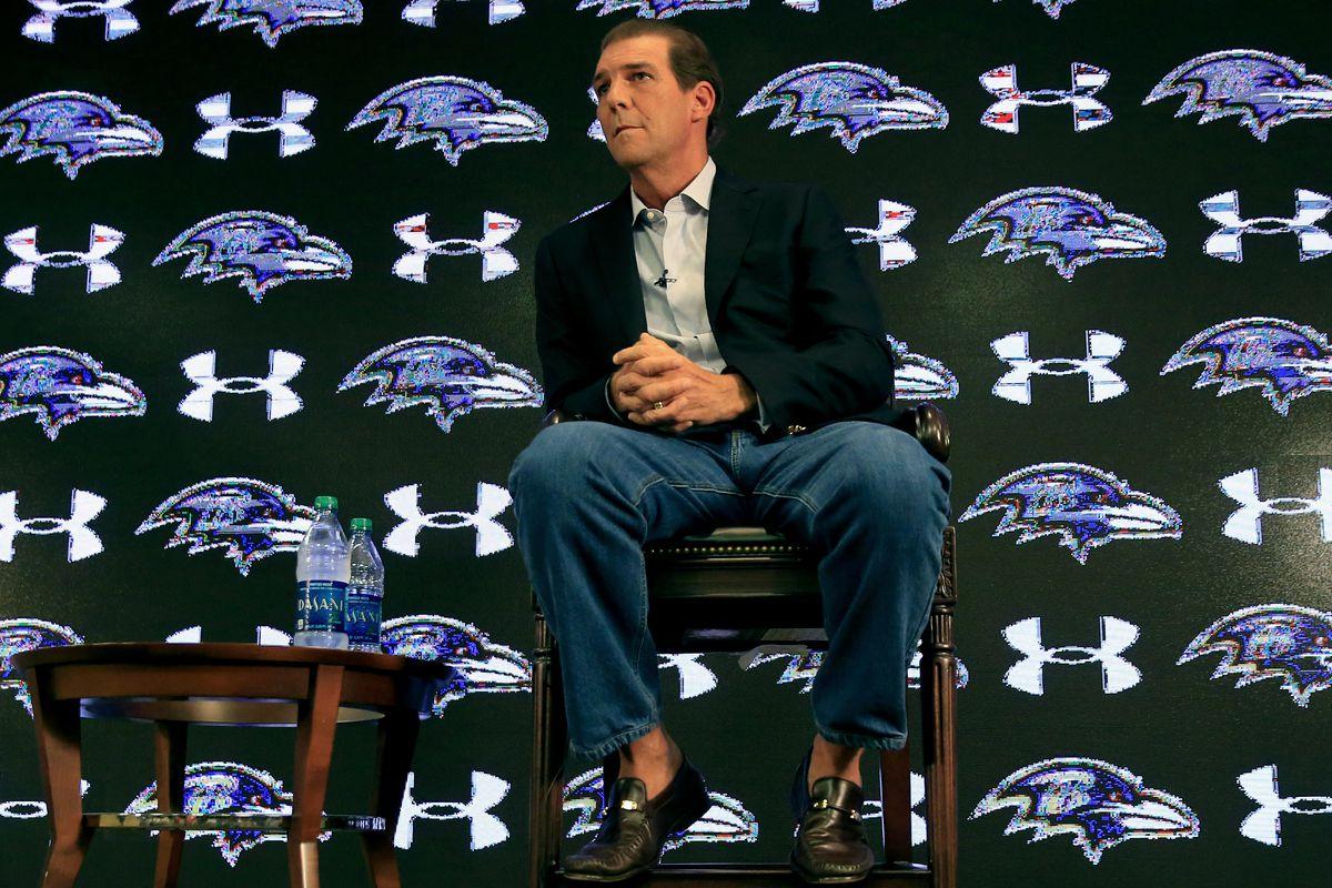 Baltimore Ravens Owner Steve Bisciotti Press Conference