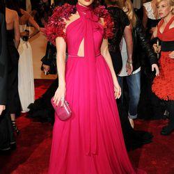Jennifer Lopez in Gucci in 2011.