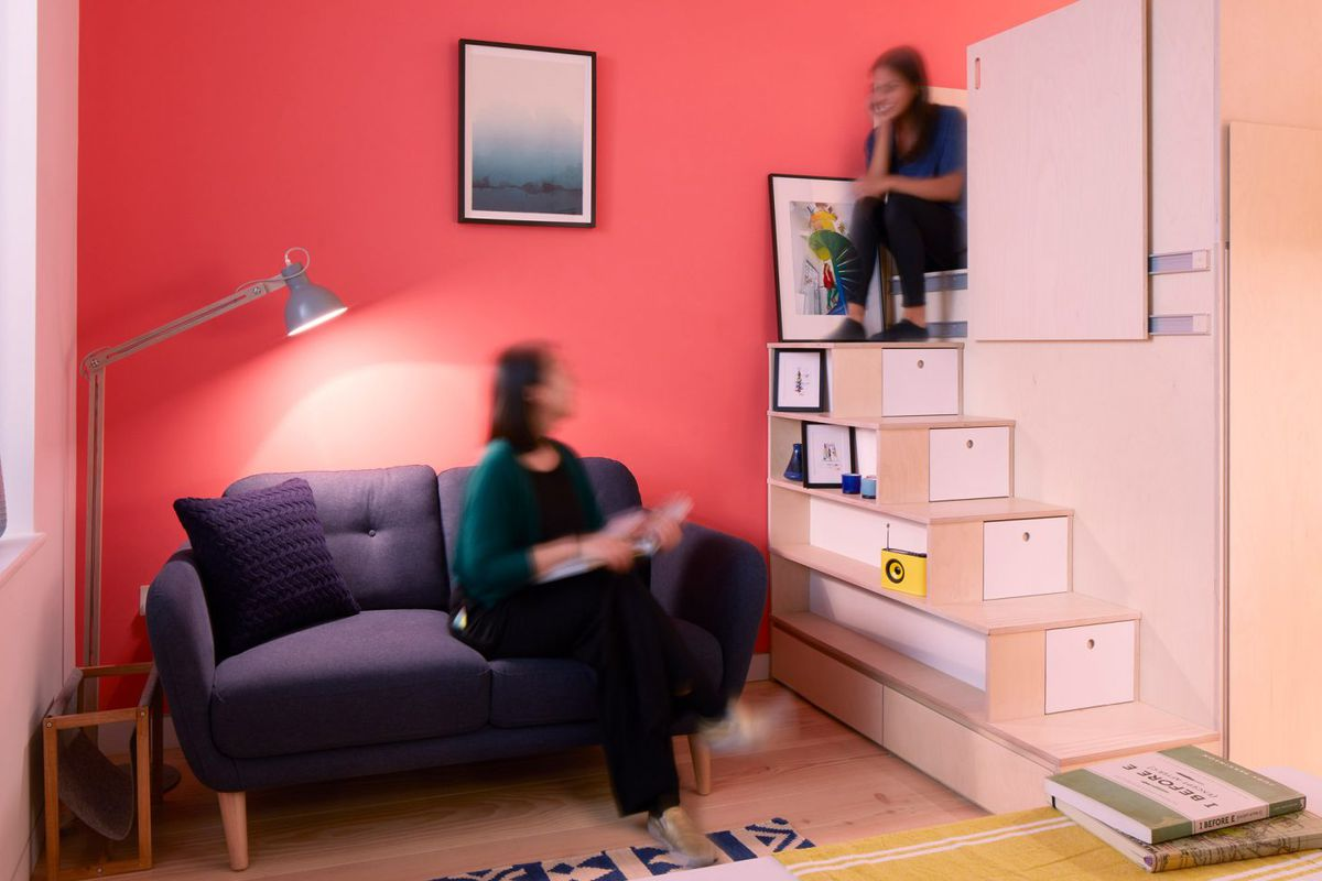 This micro apartment is london s latest idea to combat - Affordable interior design seattle ...