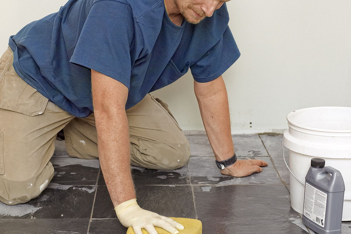 How To Lay A Stone Tile Floor This