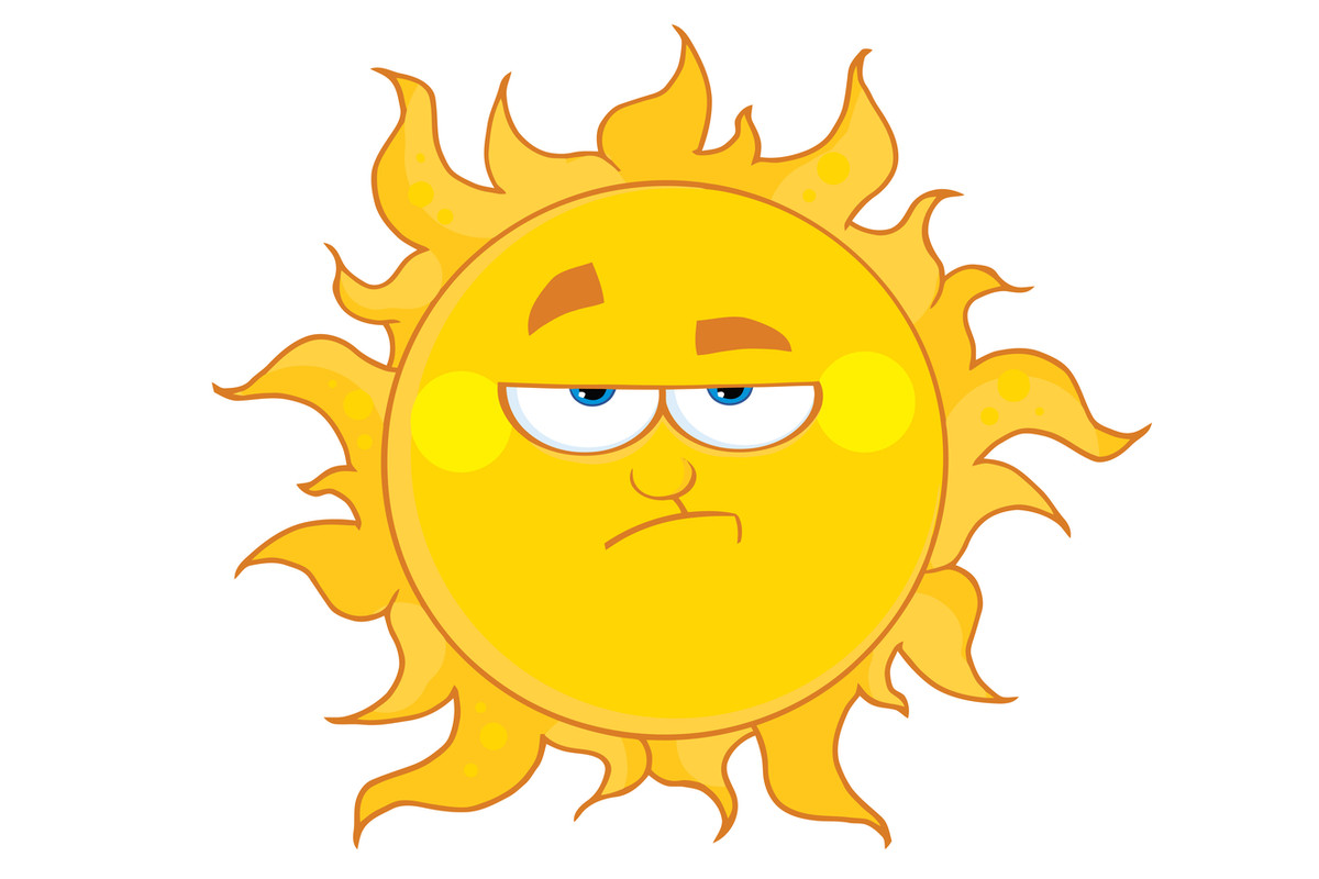 The sun is not impressed, Nevada.