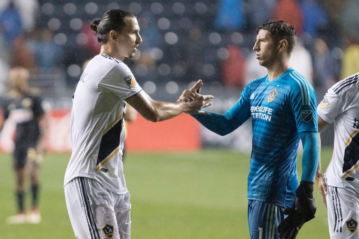 MLS: Los Angeles Galaxy at Philadelphia Union