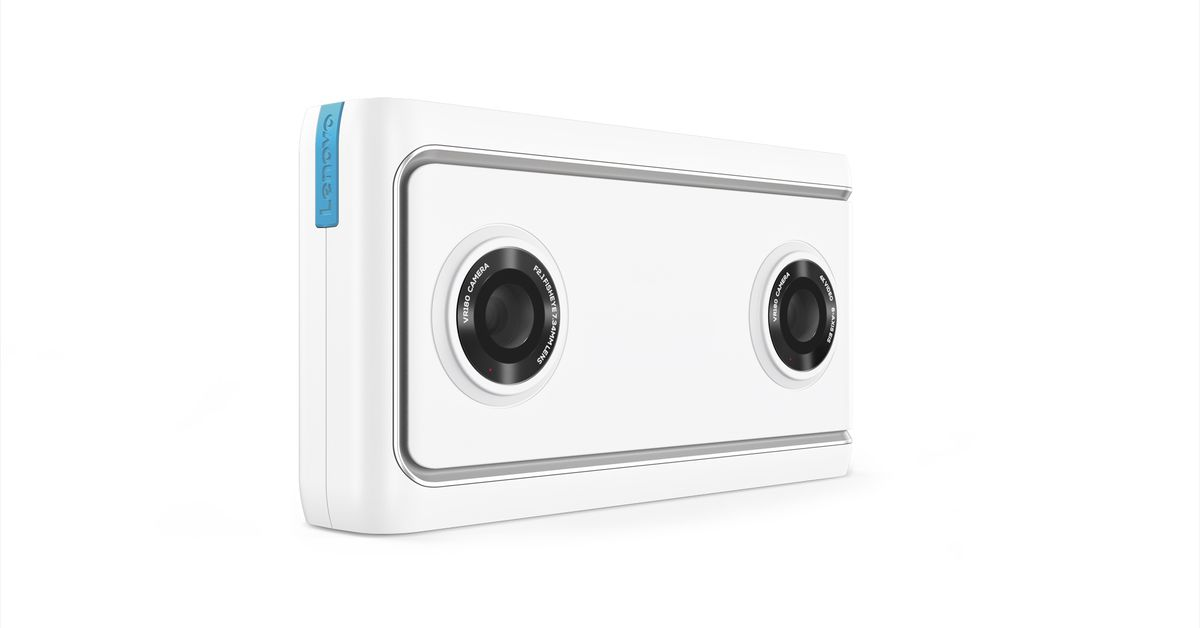 lenovo u2019s  300 mirage camera  which shoots 180-degree vr video  is now available