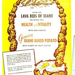"Potato menu description via <a href=""http://www.tias.com/6859/PictPage/3924035614.html"">Mayer's Market</a>."